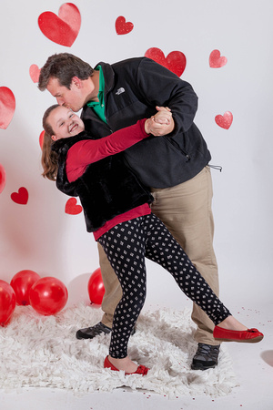 Family Valentines Day Photographs
