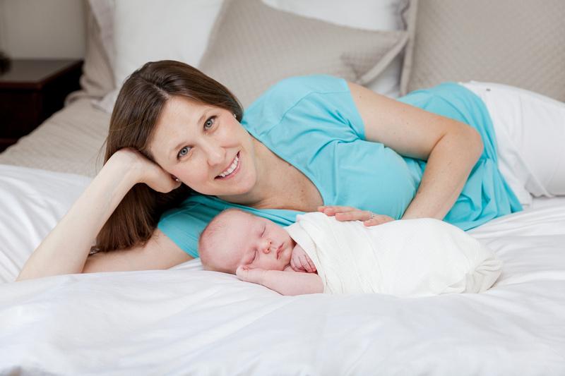 Newborn Baby Boy with Mom & Dad