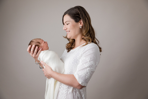 Family Portraits for Newborn baby girl