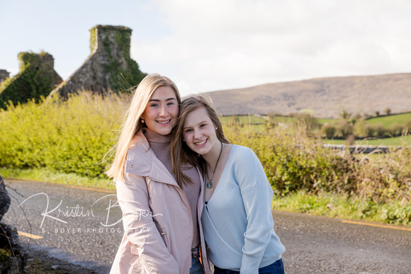 Spring Break in Ireland.  A perfect family vacation with two teenagers.