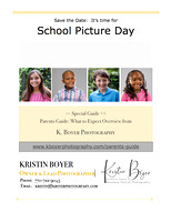 Parents Flyer For School Picture Day