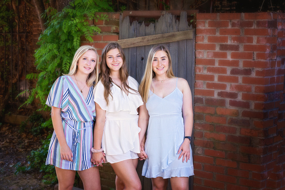 Senior portraits at Atlanta's Goat Farm in Midtown Georgia