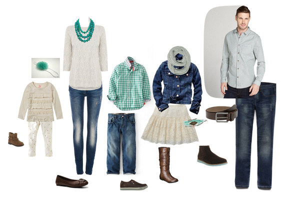 Suggestions for what to wear for Family Portrait Photography