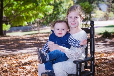 Outdoor family and children's mini sessions in North Atlanta GA.