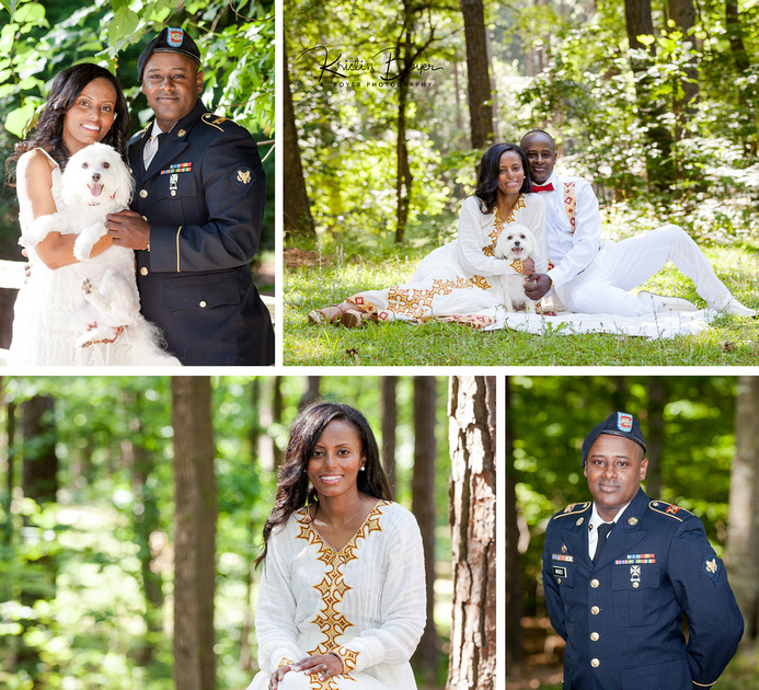 Outdoor Photo Shoot Engagement Session in Atlanta