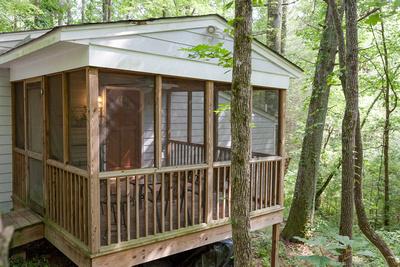 North Georgia Mountain Cabin Interior and Exterior Photos,
