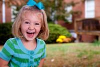 Indoor and outdoor preschool & elementary portrait photography