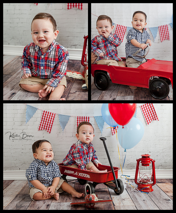 First Birthday Cake Smash photo shoot in Atlanta GA Newborn Studio